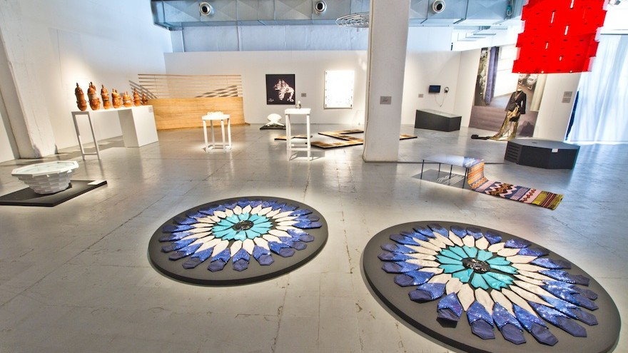 """Nawaaz Saldulker's Lineage Table is part of a travelling exhibition """"Islamopolitan"""", that was open during Salone Del Mobile at Milan Design Week 2015."""