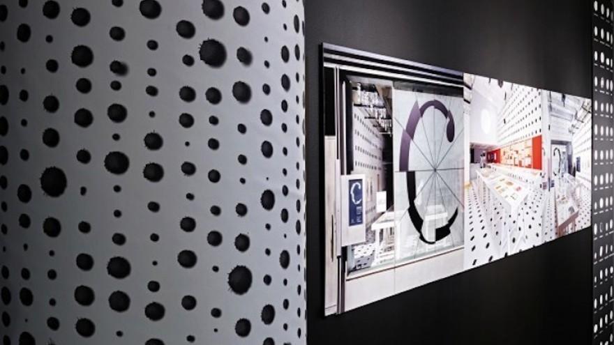 Abbott Miller: Design and Content exhibition.