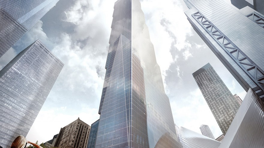 The 2 WTC is the final marker of the revitalisation of Lower Manhattan.