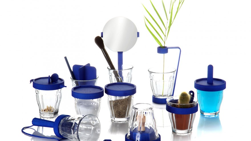 Picardie glass collection by 5.5 designstudio.
