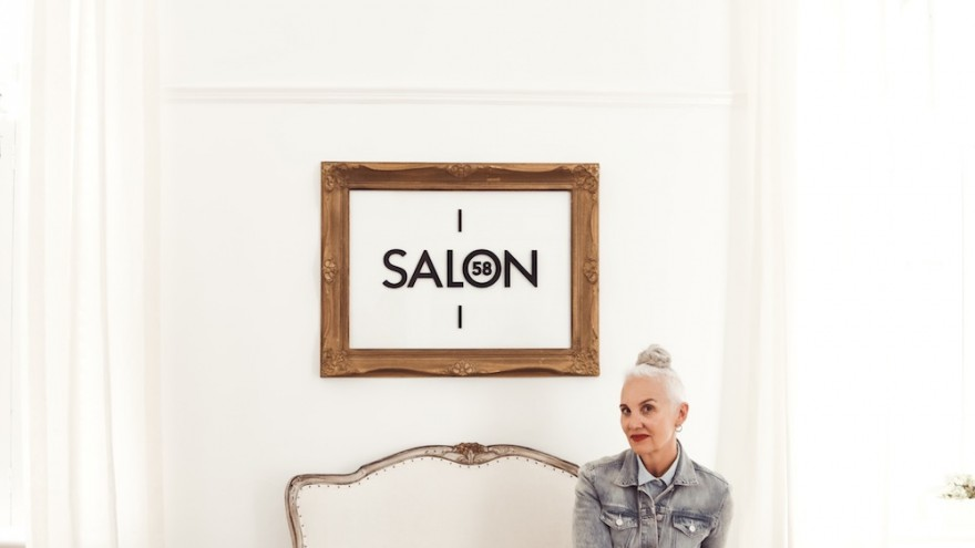 Jackie Burger, founder of Salon 58