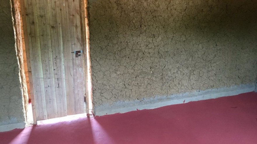 EarthEnable provides floors to Rwandans with dirt floors in their homes.