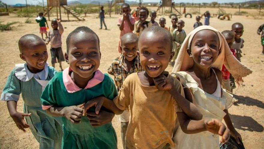 Umoja has 47 women and 200 children.