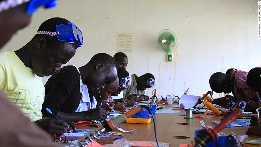 Robots In Uganda Teach A New Generation Of Innovators Design Indaba