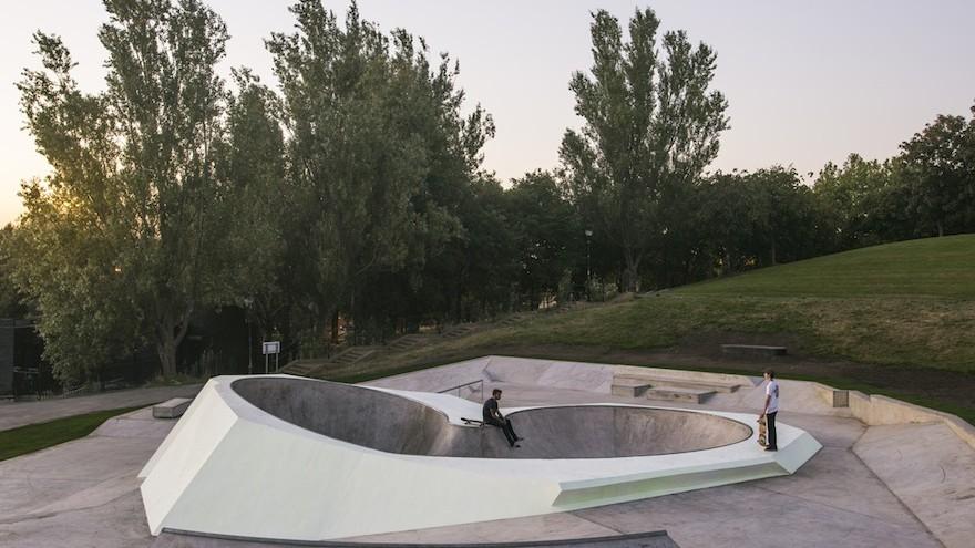 wheels park: a glow in the dark skatepark in liverpool