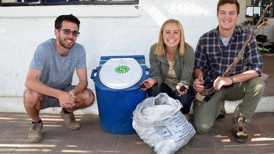 Sanivation installs toilets in Kenya's homes and, in exchange for a small monthly fee, picks up the waste and turns it into a clean cooking fuel