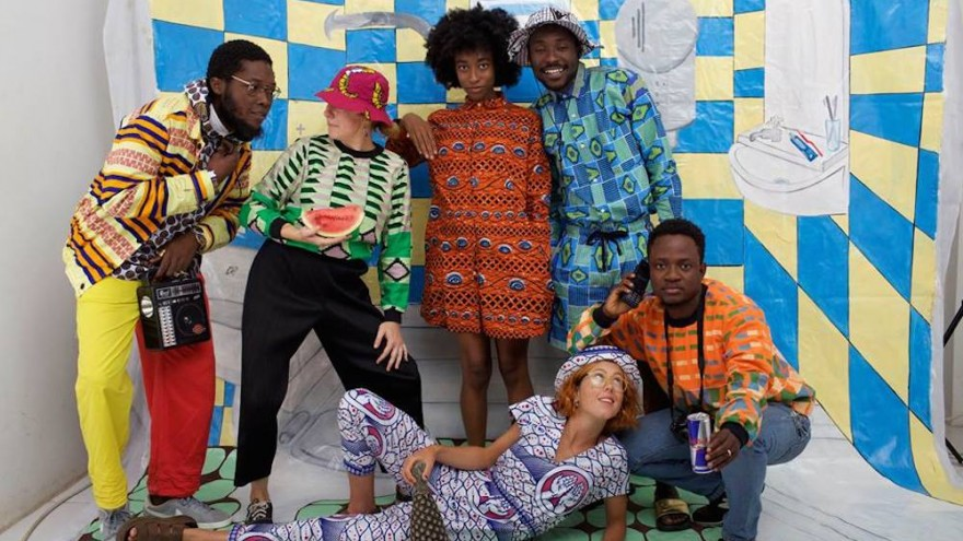 YEVU's zany creations are made and inspired by local Ghanaians.