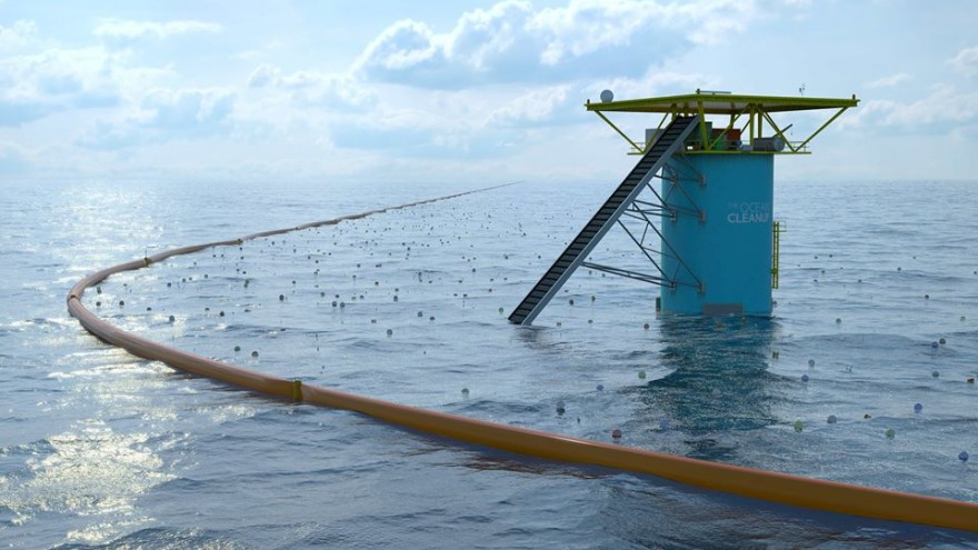 Image: Ocean Cleanup