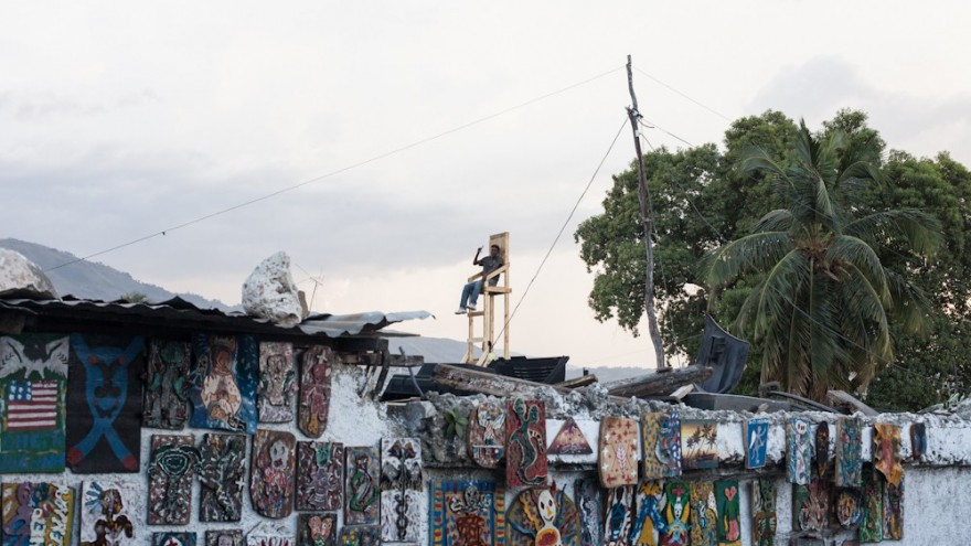 The Ghetto Biennale brings local and international art to informal Haitian neighbourhoods.