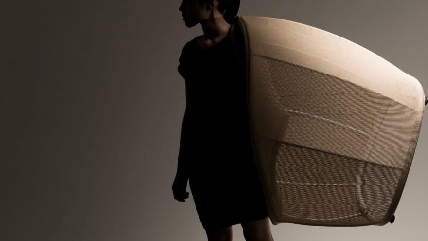 Membrane is an ultra light weight chair.