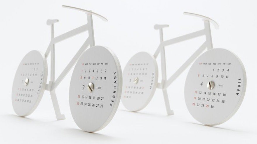 "Calendar 2015 ""Bike"" by Katsumi Tamura from A' Design Award & Competition"
