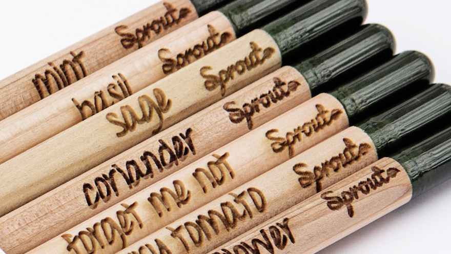 Sprout gives the humble pencil another life.