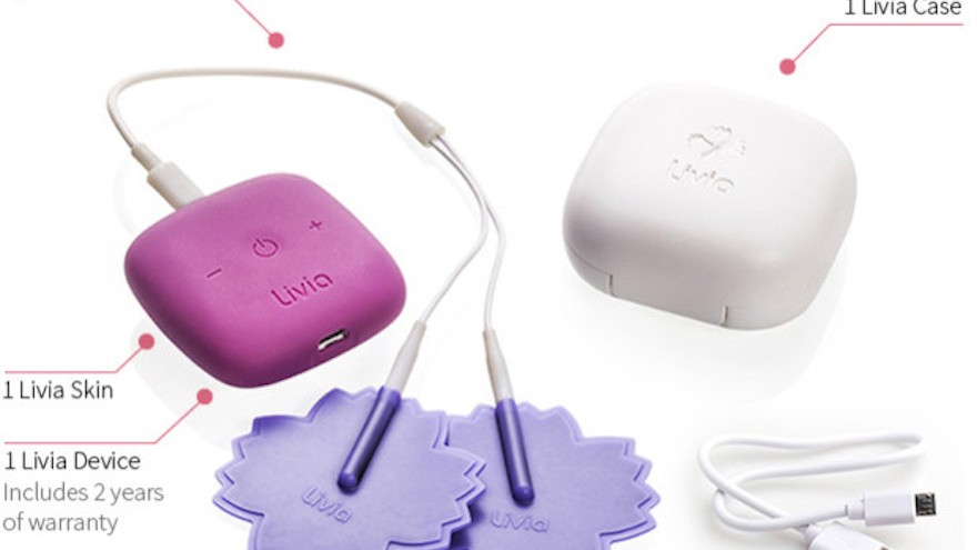 Livia cuts down menstrual pain by 80 per cent.