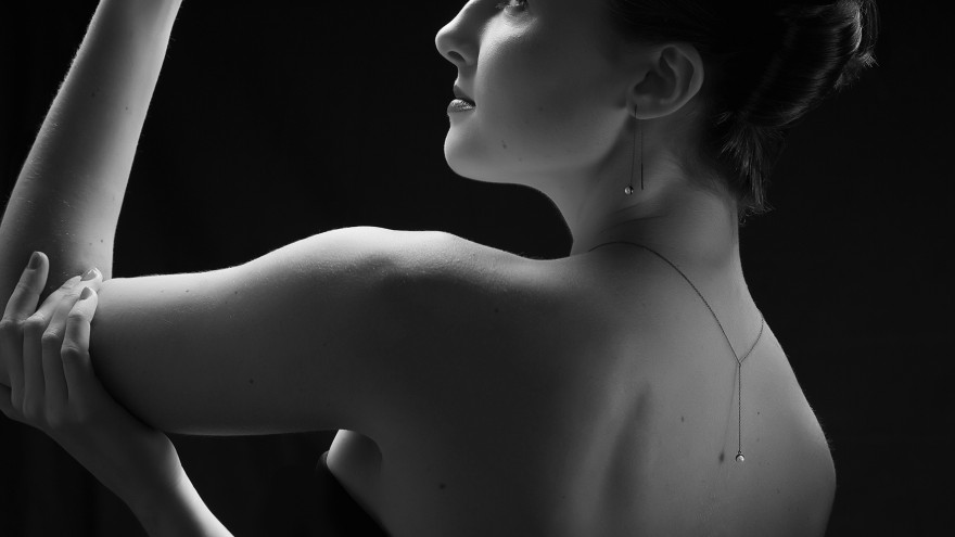 Ava collection, NOIR range by Smith Jewellery