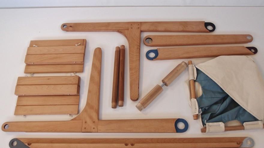 Harvest Cart's easy to assemble design