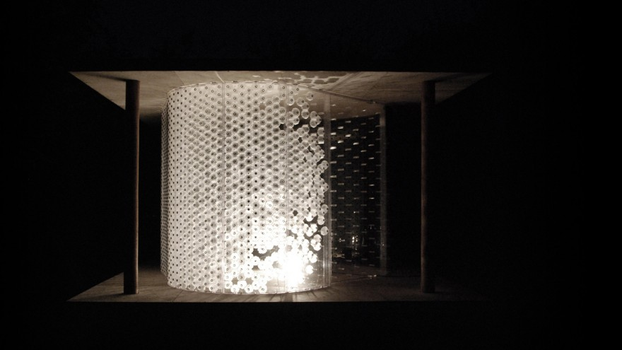 Breathing Skins' interactive showroom allows users to experience the technolgy