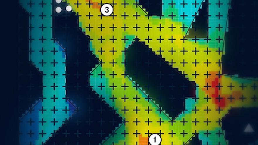 Scientists interpret gaming data with heat maps