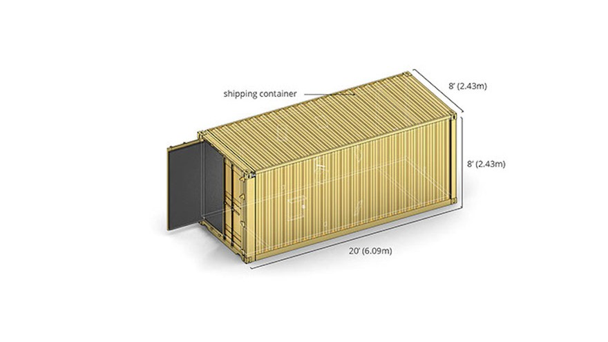 Container dimensions