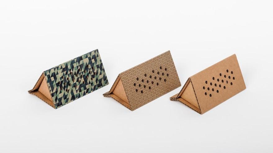 NewFoldr cardboard electronics