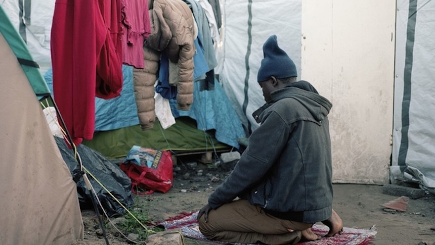 Abraham in Calais, France, November 2015