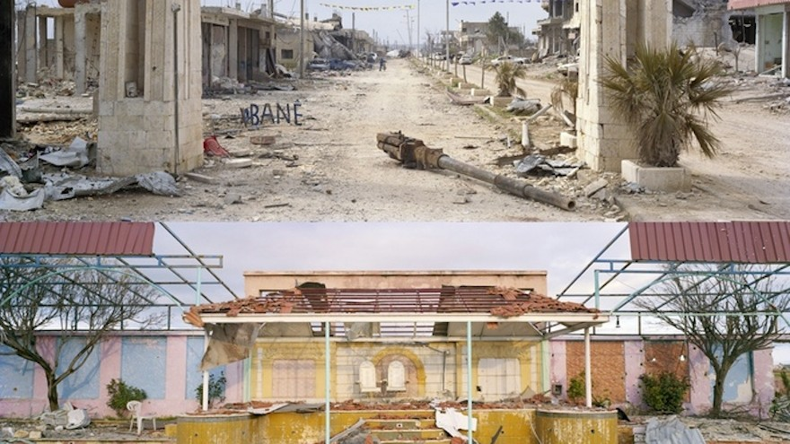 The exhibition will also focus on destroyed towns