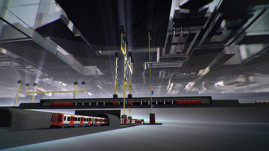The MULTI system could ease congestion in London's Underground
