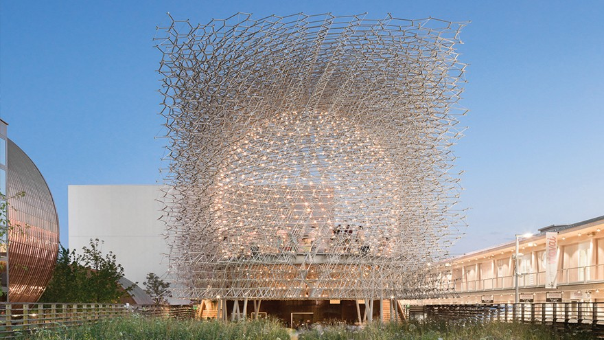The Hive at the Milan Expo