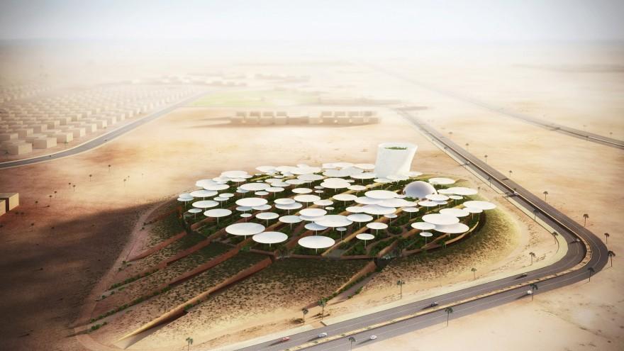 Science City wide rendering