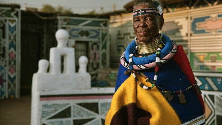 World renowned Ndebele artist and educator Esther Mahlangu's releases her second one-of-a-kind Ndebele-inspired design for BMW.