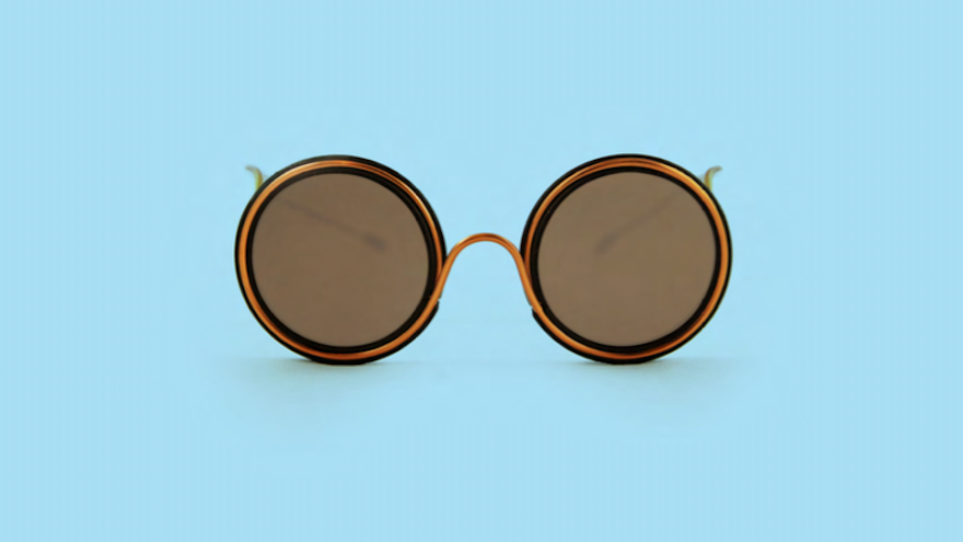 1e919eddbe These John Lennon-style Wire Glasses are made from a single wire in Harare  Zimbabwe
