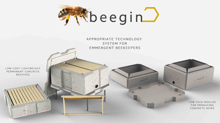 Beegin by Ivan Brown
