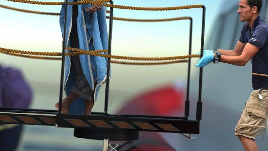 Oversafe Rescue Bridge by Giorgio Gaudio: a rescue bridge designed for migrant aid