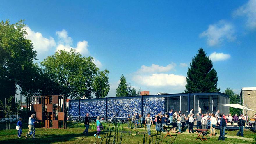 PET Pavilion public space