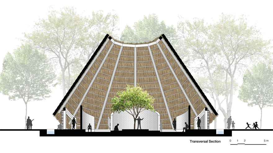 Hut Architecture Concept For A Spiritual Community Design Indaba