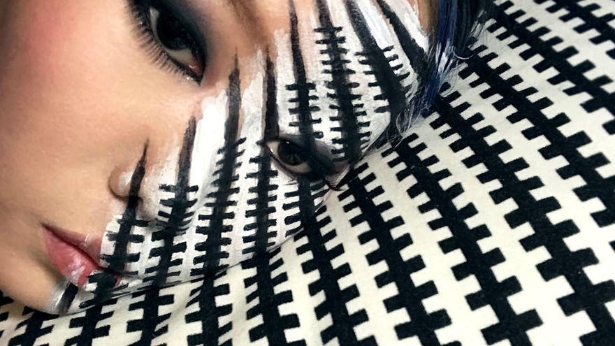 Dain Yoon makeup illusion
