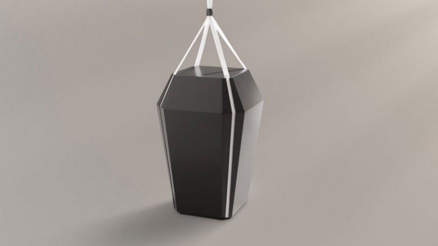 Diamant coffin by Jacob Jensen Design.