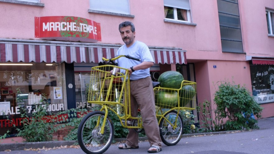 Camioncyclette by Christophe Machet.
