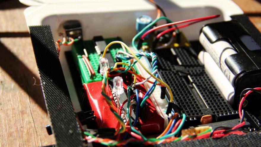 Velosynth bike synthesizer.