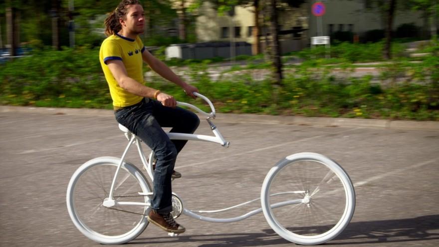 Forkless Bike by Olli Erkkilä.