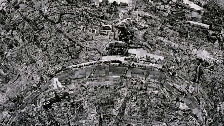 The Diorama Map Series by Sohei Nishino: Paris.