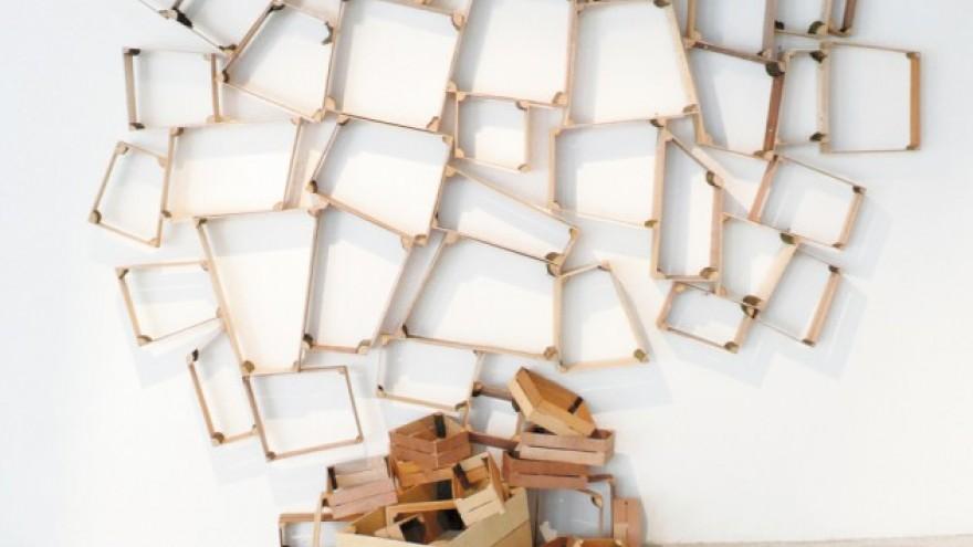 Peter Marigold: Split Box Shelves.