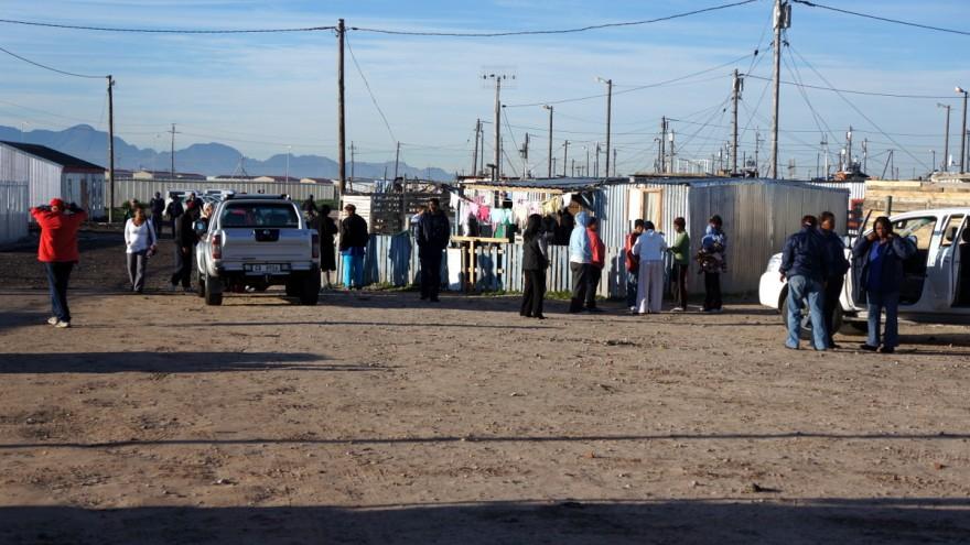 Mandela Day 2012: Blikkiesdorp