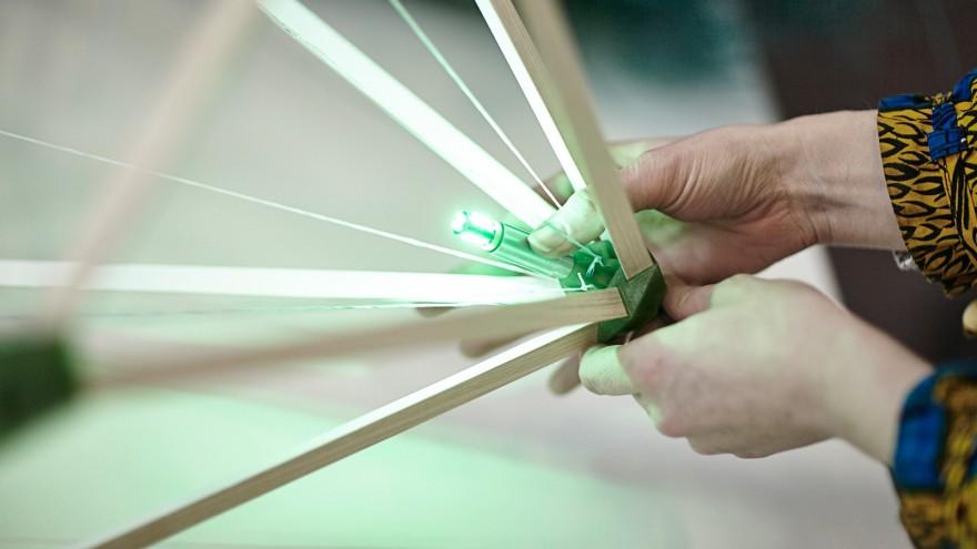 Building the Green light lantern
