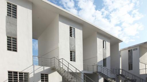 Alejandro Aravena: Elemental housing solution in Santa Catarina, Mexico. Photo: Ramiro Ramirez.