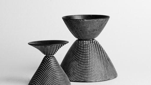 Thread Vases by Natalie du Toit and Phil Procter. Image: Michael Currin.