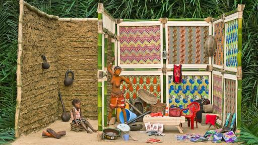 Patrick Willocq, Walé Lokito and her belongings, from the series I am Walé Respect Me, 2013, 109 x 145 cm, Image courtesy of the artist.