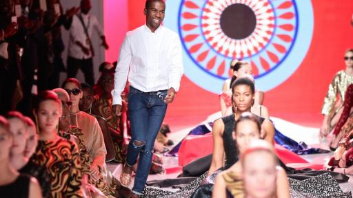 A Luta Continua collection by Taibo Bacar at Mercedes-Benz Fashion Week Africa 2014. Image: Simon Deiner / SDR Photo
