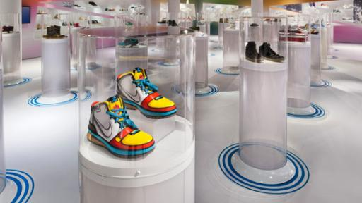 Out of the Box exhibition design by Karim Rashid.