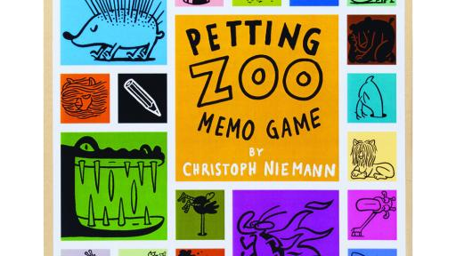 Christoph Niemann — Petting Zoo Memo Game, copyright Gestalten 2013.