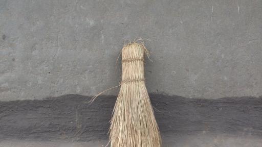 Broom in Utensils by Reny van der Kamp. Image: Reny van der Kamp.